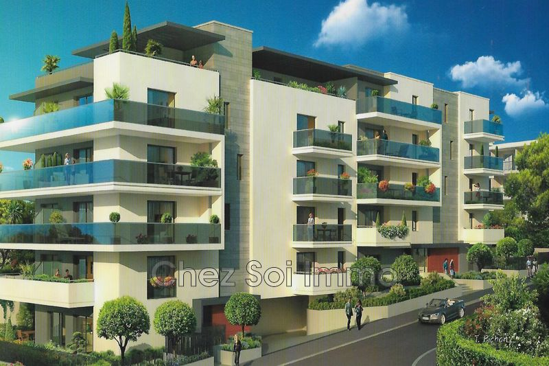 Appartement Cagnes-sur-Mer Lautin,   achat appartement  3 pièces   62m²