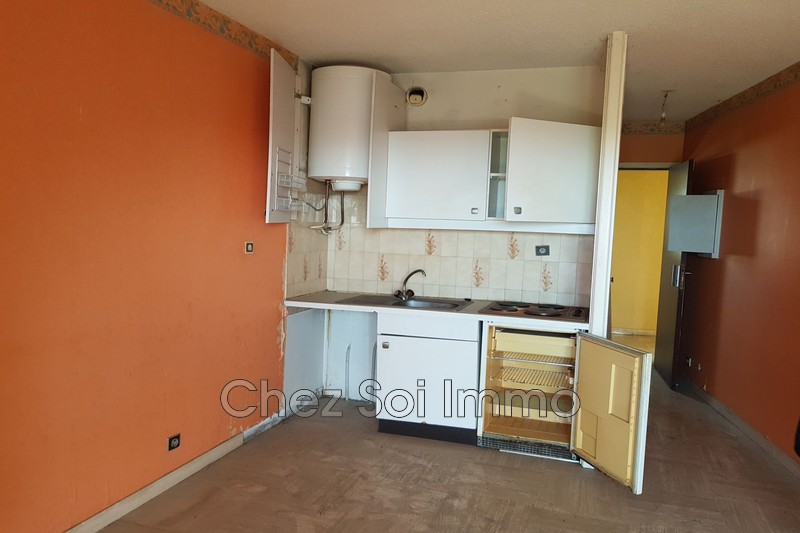 Apartment Villeneuve-Loubet Max chaminadas,   to buy apartment  1 room   19 m²