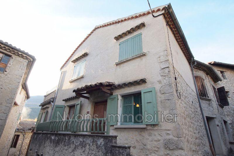 Photo Maison de village La Motte-Chalancon   achat maison de village  2 chambres   69m²