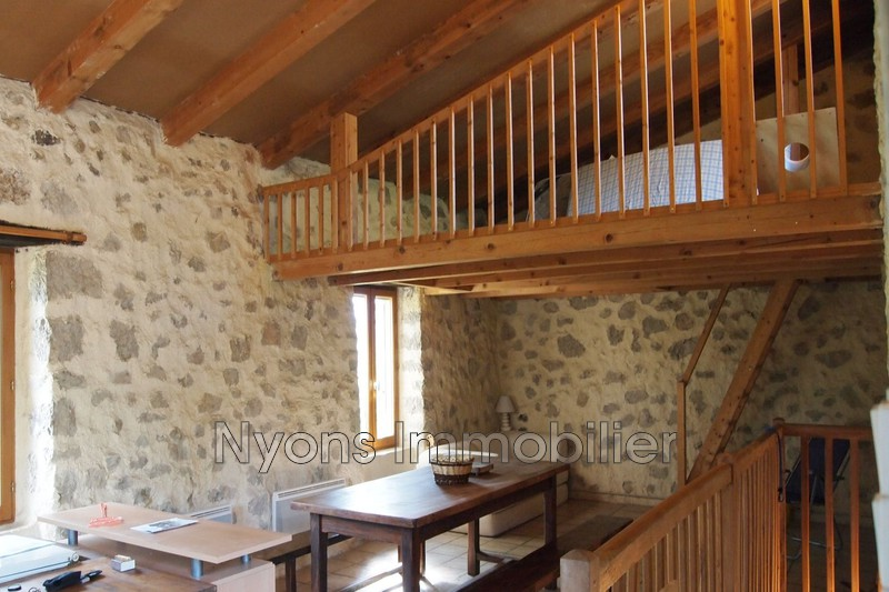 Photo Mas La Motte-Chalancon Drôme provençale,   achat mas  2 chambres   65m²