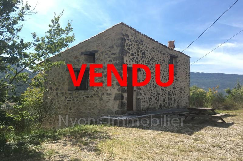 Photo Mas La Motte-Chalancon Drôme provençale,   achat mas  1 chambre   65m²