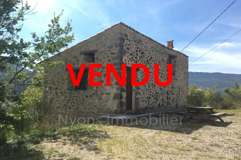 Photo Mas La Motte-Chalancon Drôme provençale,   to buy mas  1 bedroom   65m²
