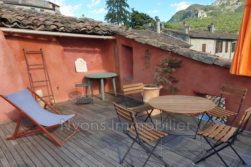Photo Maison de village La Motte-Chalancon   achat maison de village  1 chambre   109m²