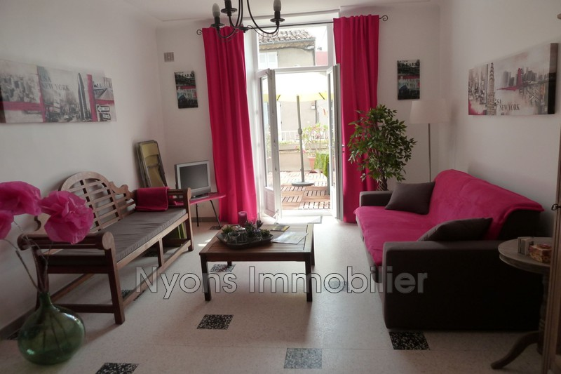 Photo Apartment Nyons   to buy apartment  1 room   31m²