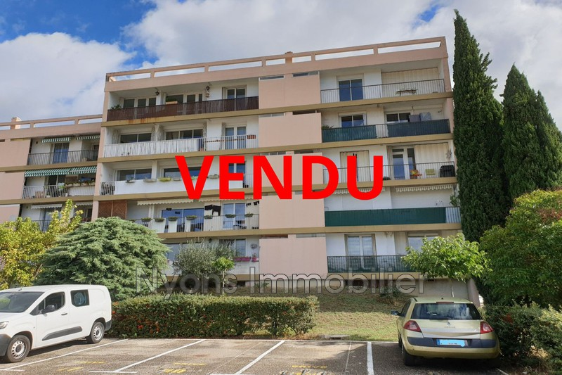 Photo Appartement Nyons   achat appartement  3 pièces   62 m²