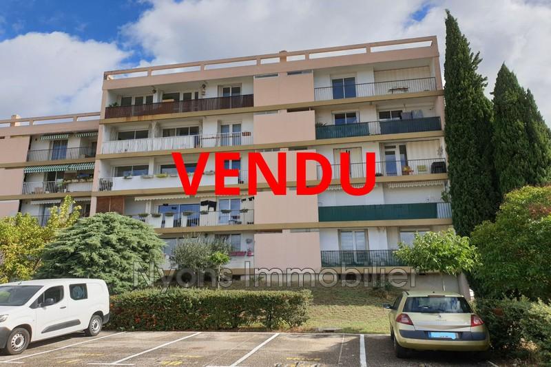 Photo Appartement Nyons   achat appartement  3 pièces   62m²