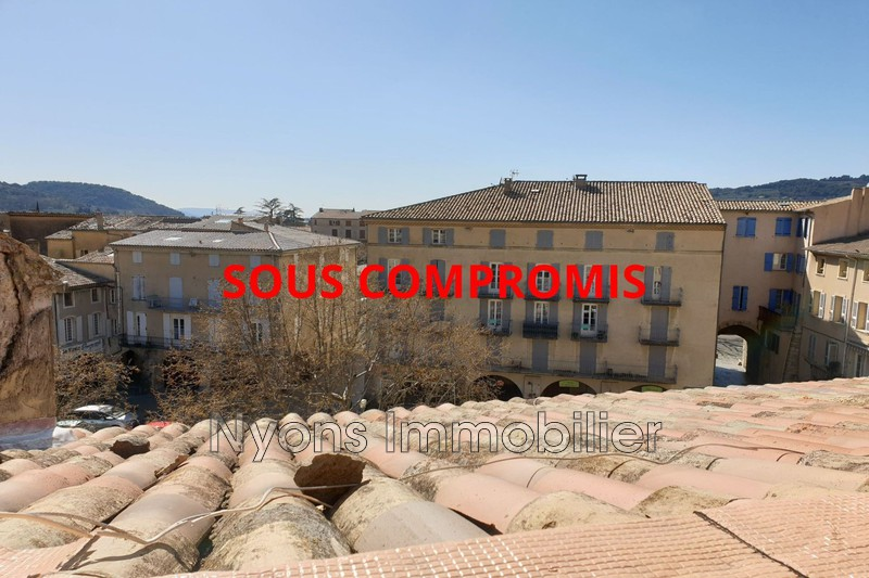 Photo Apartment Nyons   to buy apartment  1 room   24m²