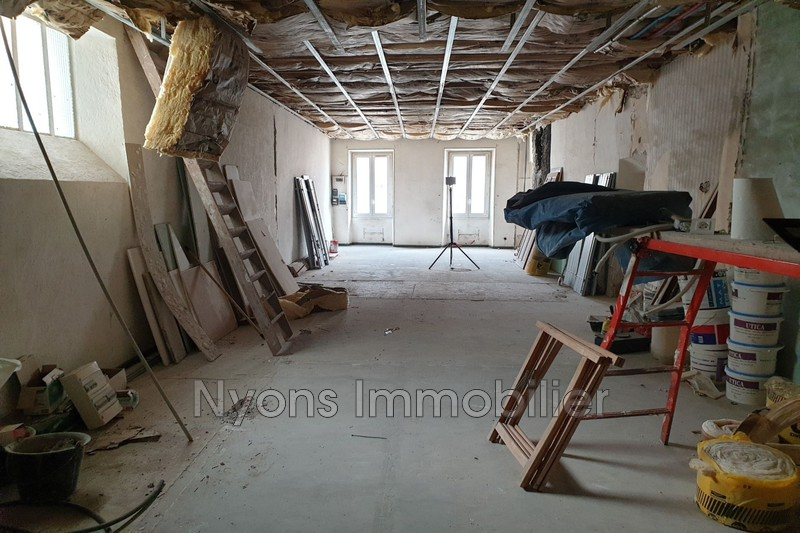 Photo Apartment Nyons   to buy apartment  1 room   76m²