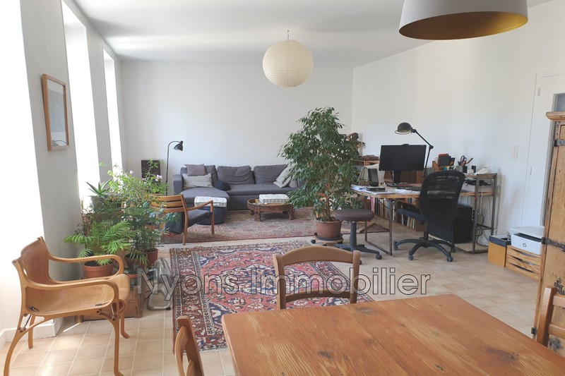 Photo Apartment Nyons   to buy apartment  5 rooms   125m²