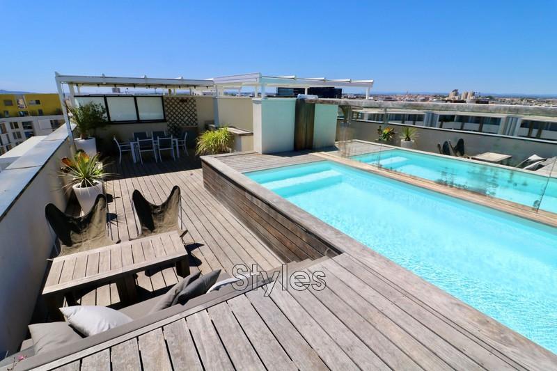 Photo Appartement Montpellier Centre-ville,  Location appartement  4 pièces   134m²