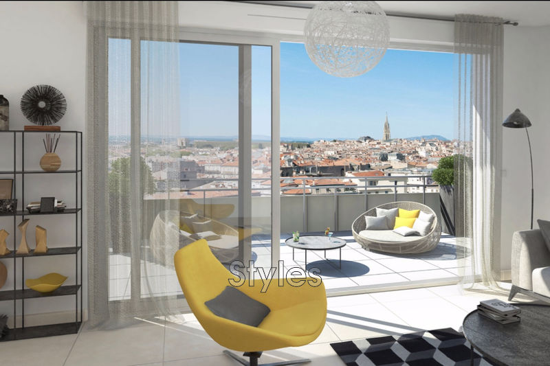 Photo Appartement Montpellier   achat appartement  4 pièces   99m²
