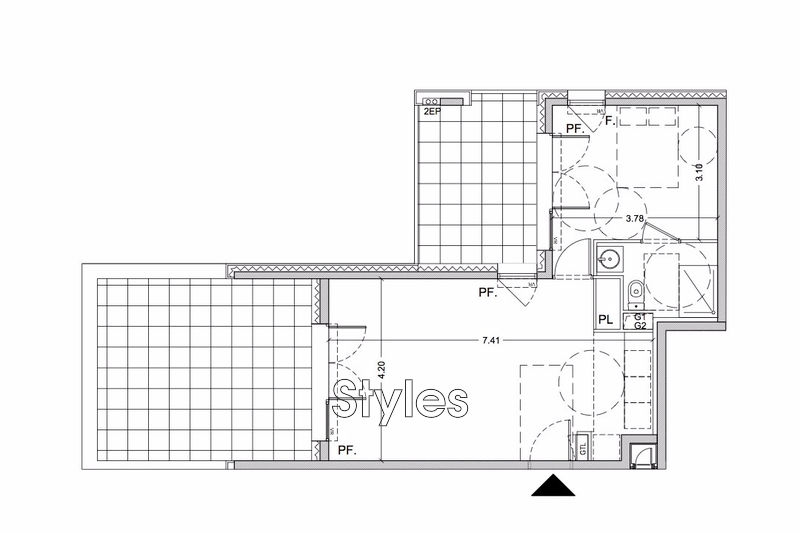 Photo n°2 - Vente appartement Montpellier 34000 - 252 000 €