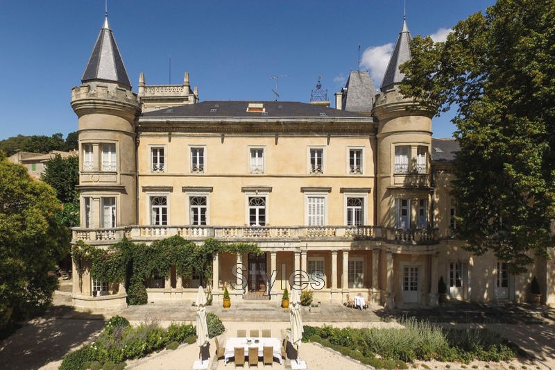 Photo Castle Uzès   to buy castle  18 bedrooms   840 m²
