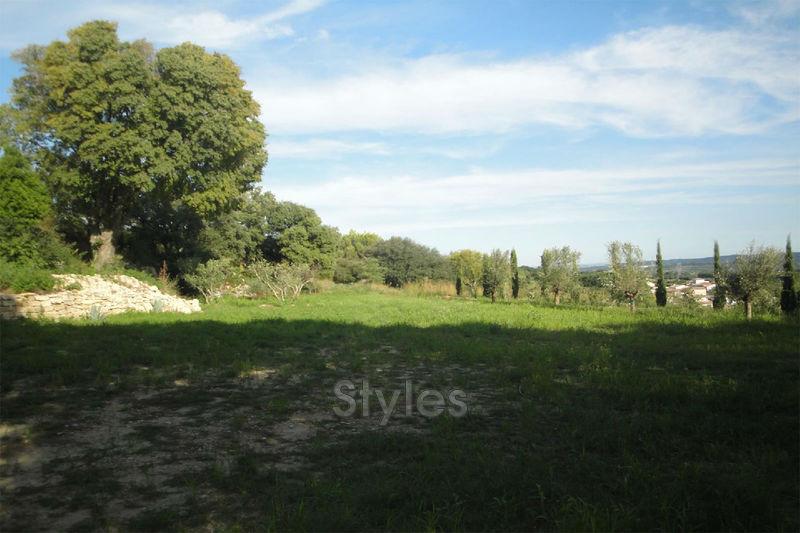 Photo Terrain à bâtir Uzès   achat terrain à bâtir   1350m²