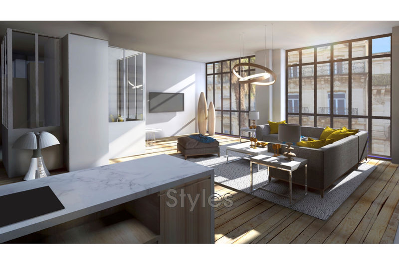 Photo Appartement Montpellier   achat appartement  3 pièces   131m²