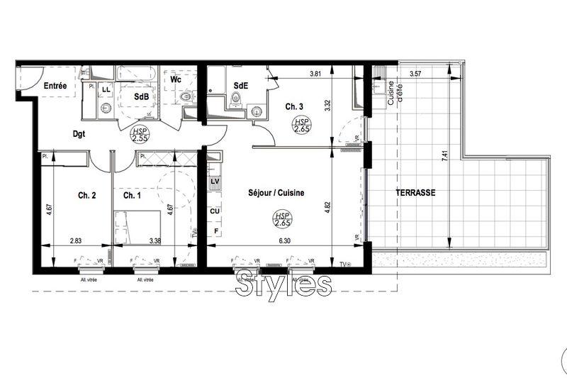 Photo n°3 - Vente appartement Montpellier 34000 - 555 000 €
