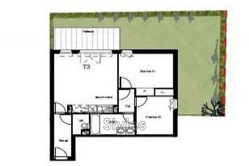 Photo n°2 - Vente appartement Montpellier 34000 - 310 000 €
