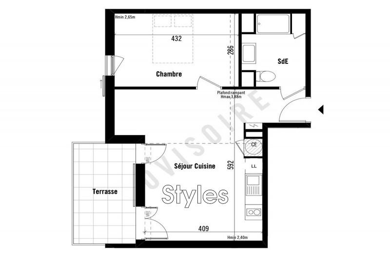 Photo n°2 - Vente appartement Montpellier 34000 - 236 000 €