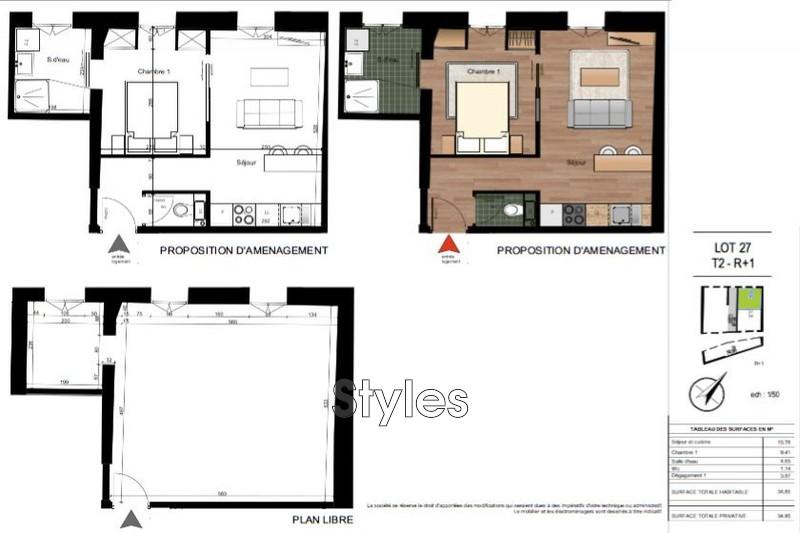 Photo n°2 - Vente appartement Montpellier 34000 - 186 500 €