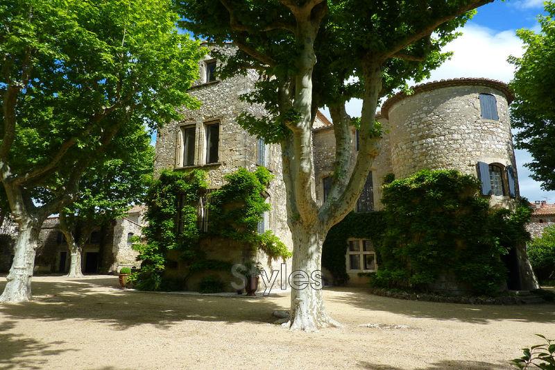 Photo Château Uzès   achat château  7 chambres   500m²