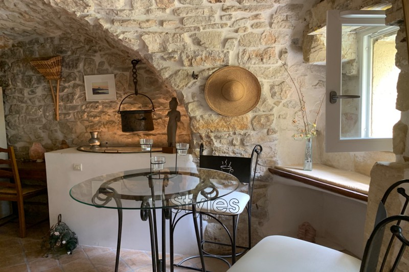 Photo Maison en pierre Uzès   achat maison en pierre  2 chambres   125m²