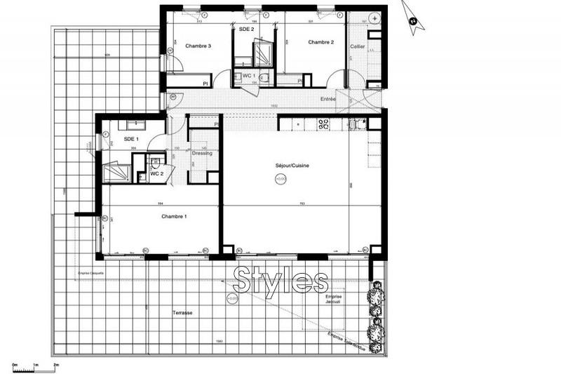 Photo n°3 - Vente appartement Montpellier 34000 - 710 000 €
