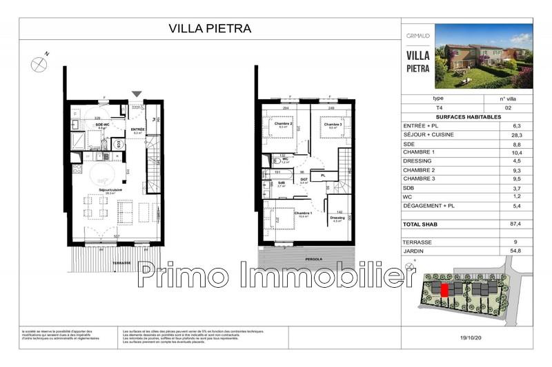 Photo n°3 - Vente maison Grimaud 83310 - 387 000 €