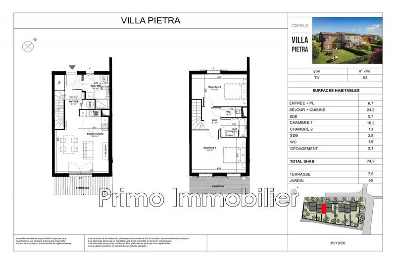 Photo n°3 - Vente maison Grimaud 83310 - 365 000 €