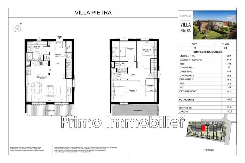 Photo n°3 - Vente maison Grimaud 83310 - 455 000 €