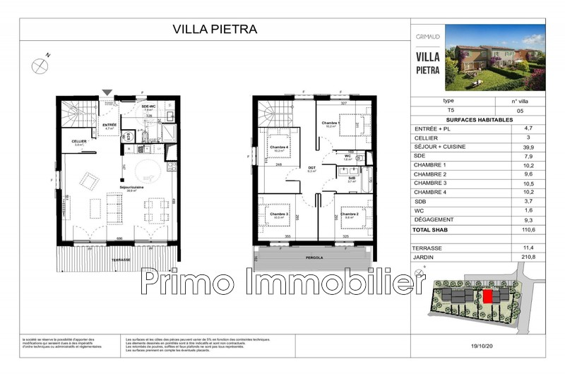 Photo n°2 - Vente maison Grimaud 83310 - 490 000 €