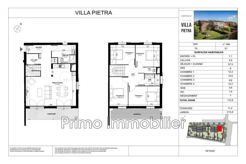 Photo n°3 - Vente maison Grimaud 83310 - 490 000 €