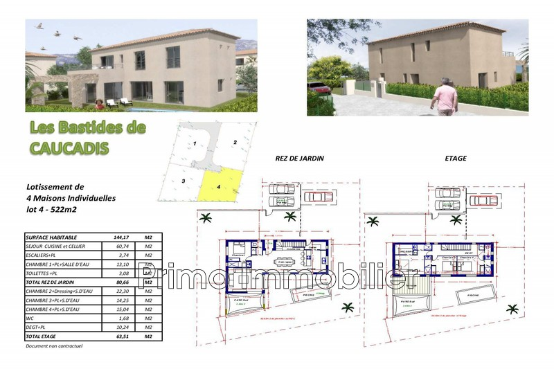 Photo Land Grimaud Proche plages,   to buy land   522m²