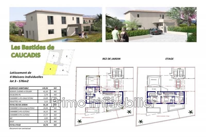 Photo Land Grimaud Proximité village,   to buy land   576m²