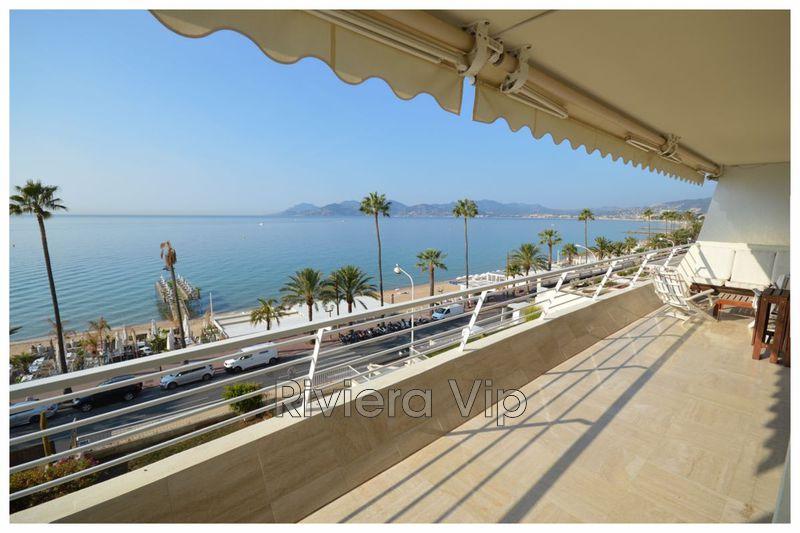 Appartement Cannes Bord de mer,  Location saisonnière appartement  5 pièces   125m²