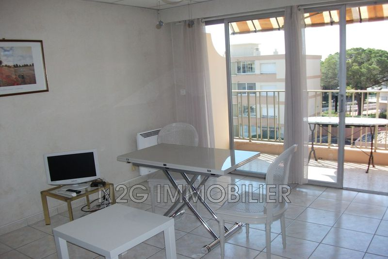 Apartment Mandelieu-la-Napoule Centre-ville,  Rentals apartment  1 room   29m²