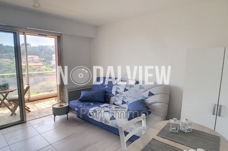 Appartement Villeneuve-Loubet  Location appartement  1 pièce   23m²