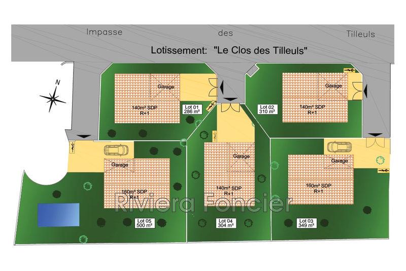 Terrain à lotissement Antibes   achat terrain à lotissement   286m²
