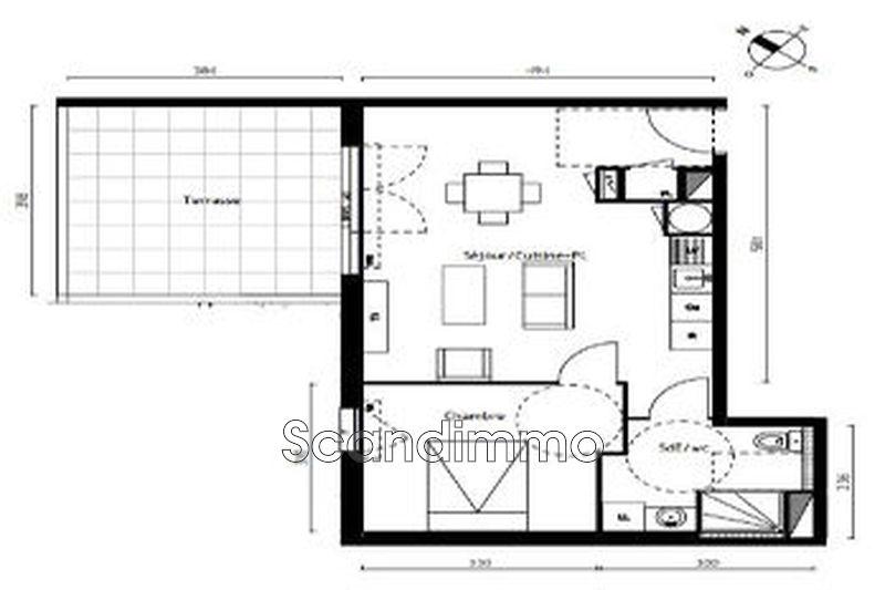 Photo n°14 - Vente appartement Agde 34300 - 152 000 €