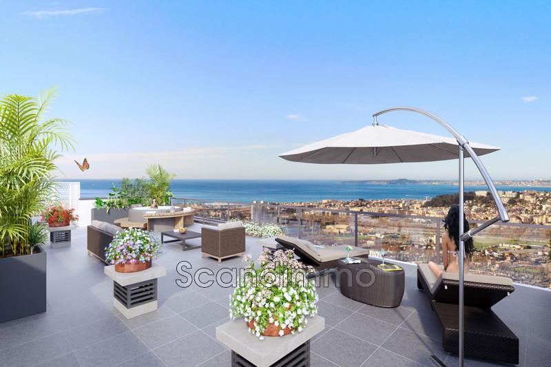 Photo Villa sur le toit Nice Riviera,  Neuf villa sur le toit  4 pièces   104m²