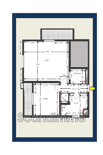 Photo n°10 - Vente appartement Cannes 06400 - 235 000 €
