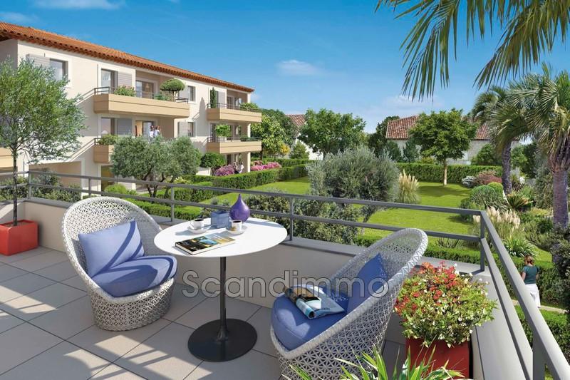 Photo Rez-de-jardin Juan-les-Pins Riviera,  Neuf rez-de-jardin  2 pièces   40m²
