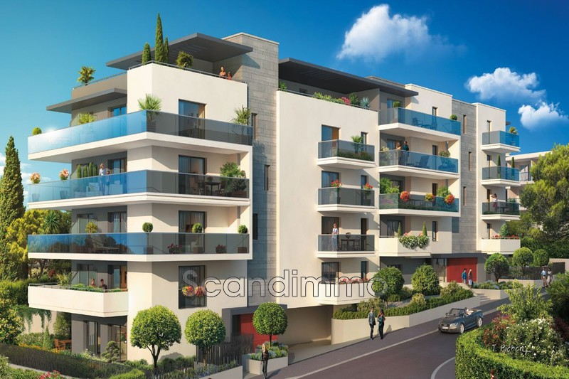 Photo Apartment Cagnes-sur-Mer Proche plages,  New construction apartment  3 bedroom   61 m²