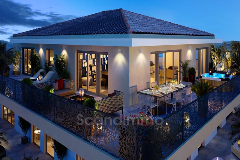 Photo Villa sur le toit Cannes Proche plages,  Neuf villa sur le toit  4 pièces   154m²