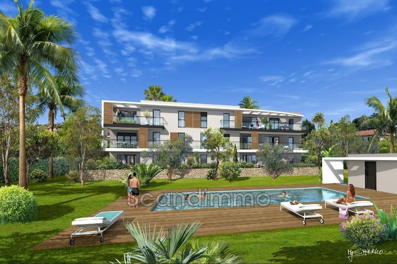 Photo Apartment Golfe-Juan Proche mer,  New construction apartment  3 bedroom   60m²