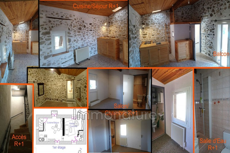 Photo Maison de village Laroque   achat maison de village  2 chambres   68 m²