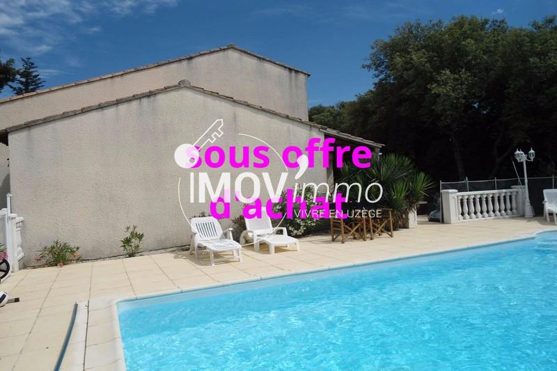 Villa Uzès Uzès est,   achat villa  4 chambres   130m²
