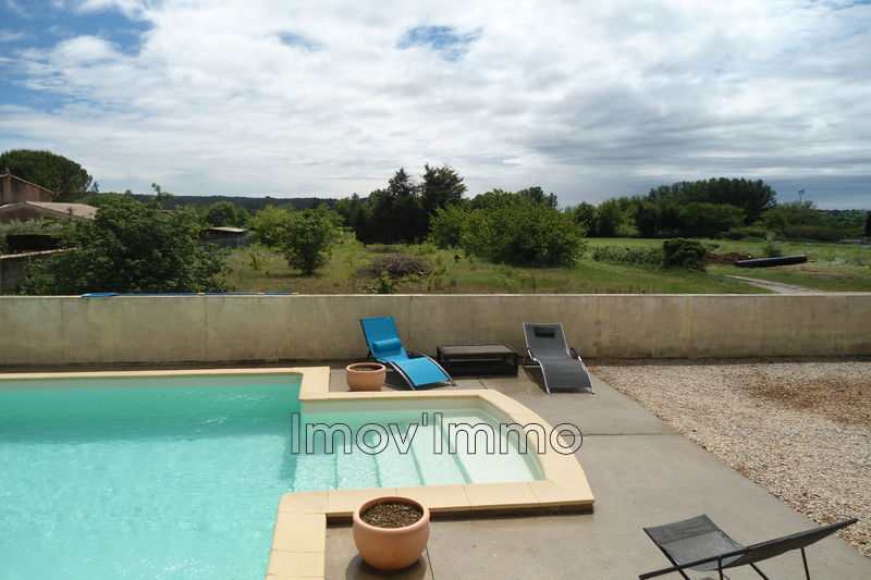 Photo House Saint-Quentin-la-Poterie Périphérie village ,   to buy house  3 bedroom   128 m²