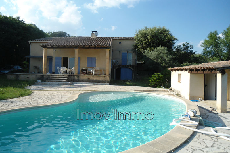 Photo Villa Saint-Quentin-la-Poterie Uzès nord,   to buy villa  4 bedroom   160 m²