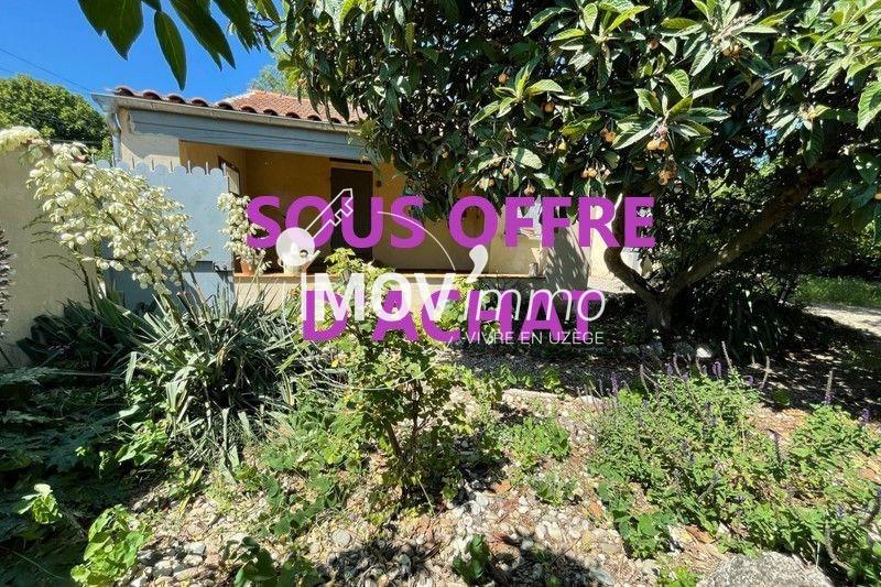 Maison Saint-Quentin-la-Poterie Uzès nord,   achat maison  3 chambres   86m²