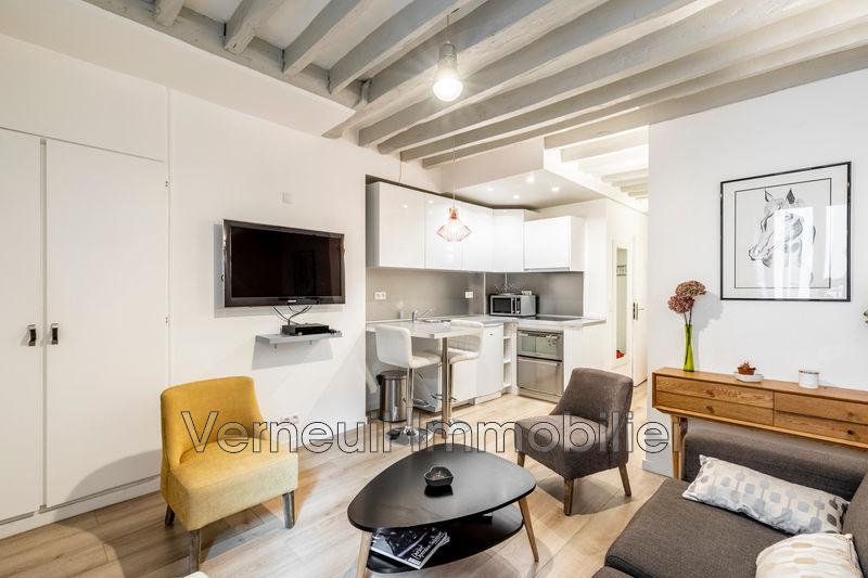 Appartement Paris Rue guisarde,  Location appartement  2 pièces   34m²